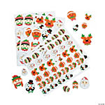 Christmas Mustache Self-Adhesive Shapes