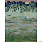 Christmas Nativity Bethlehem Town Design-A-Room Background