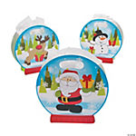 Christmas Snow Globe Gift Bag Assortment