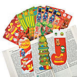 Christmas Sticker Bookmarks