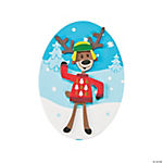 Christmas Sweater Deer Magnet Craft Kit