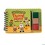 Christmas Thumbprint Sticker Books