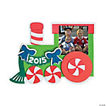 2015 Christmas Train Picture Frame Magnet Craft Kit