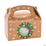 Christmas Wreath Treat Boxes