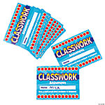 Classwork Punch Cards