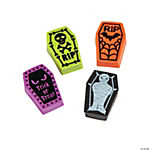 Coffin-Shaped Halloween Erasers
