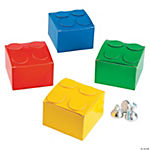 Color Brick Party Favor Boxes