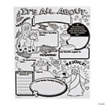 "Color Your Own! ""All About"" Holy Week Posters"