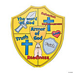 "Color Your Own ""Armor of God"" Cutouts"