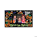 Color Your Own Fuzzy Halloween Picture Frame Magnets