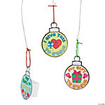 Color Your Own Gift To Jesus Ornaments