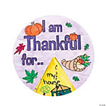 "Color Your Own ""I Am Thankful For..."" Wheels"