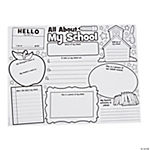 "Color Your Own ""It's All About My School"