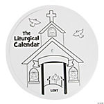 Color Your Own Liturgical Calendar Wheels