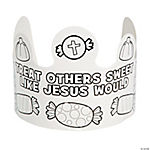 "Color Your Own ""Treat Others"" Faith Crowns"