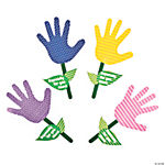 Colorful Handprint Flowers For Mom Craft Kit