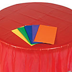 Colorful Round Tablecloth Assortment