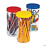 Colorful Storage Canisters