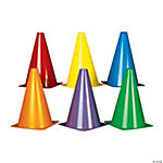 Colorful Traffic Cones