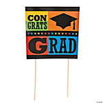 """Congrats Grad"" Yard Sign"