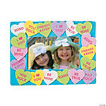 Conversation Heart Picture Frame Craft Kit