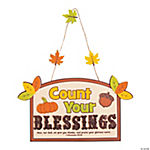 Count Your Blessings Sign Craft Kit