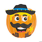 Cowboy Pumpkin Decorating Craft Kit