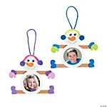 Craft Stick Snowman Picture Ornament Craft Kit