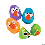 Crazy Bird Easter Eggs