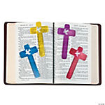 Cross-Shaped Ruler Bookmarks