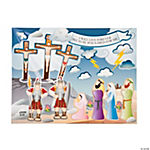 Crucifixion Sticker Scenes