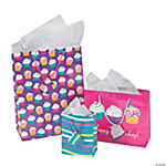Cupcake Gift Bag Assortment
