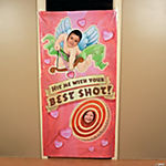 Cupid Photo Door Banner