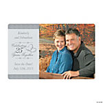 Customized 25th Wedding Anniversary Photo Magnets