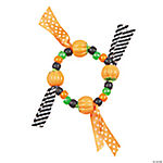Cute Pumpkin Candy Bracelet Craft Kit