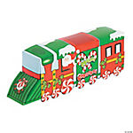 3D Christmas Train Sticker Scenes