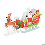3D Santa's Sleigh Craft Kit