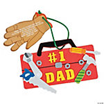 #1 Dad Tool Chest Ornament Craft Kit