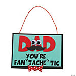 """Dad You're Fan 'Tache' Tic"" Craft Kit"