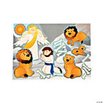 Daniel in the Lion's Den Mini Sticker Scenes