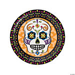 Day of the Dead Dinner Plates