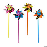 Day of the Dead Pinwheels