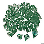 Diamond-Shaped Green Gems