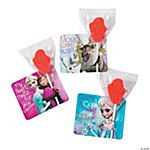 Disney Frozen Valentine Lollipops & Cards