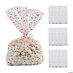 Donut Sprinkles Cellophane Bags