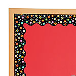 Dots on Black Bulletin Board Borders