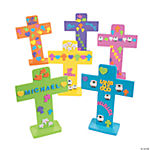 Easter Crosses with Stickers
