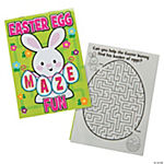 Easter Egg Maze Activity Books
