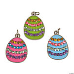 Easter Egg Rhinestone Charms