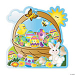 Egg-Cellent Make-An-Easter-Basket Sticker Scenes